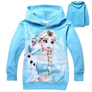 Frozen movie,Snow Queen Elsa,Princess Anna,Olaf, HOODIES Regina Regina Area image 10