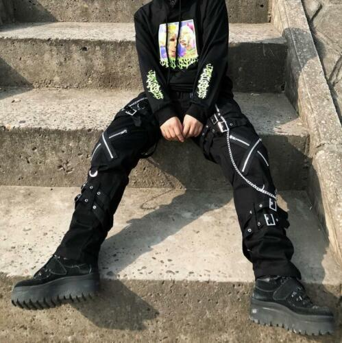 Men's Trousers Medieval Rock Mens Harem Pants Punk Gothic