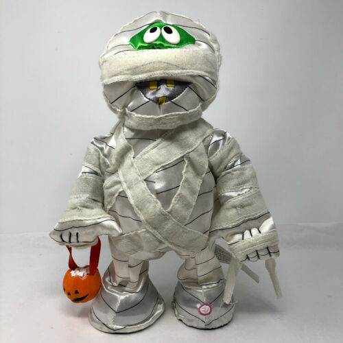 Gemmy Halloween Animated Groovin Dancing Mummy Plays Shout SEE VIDEO