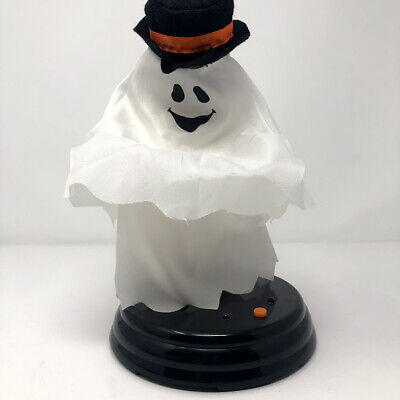 Gemmy Grave Raver Top Hat Ghost Halloween Animated SEE VIDEO