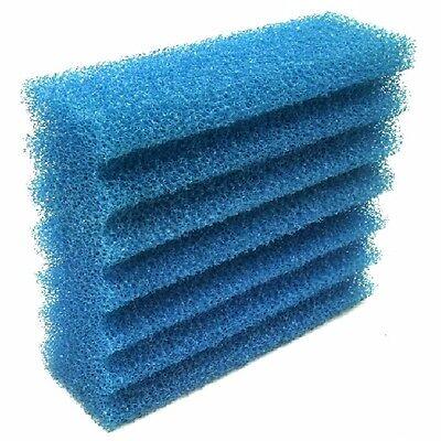8 x Filterschwamm blau grob für Teichfilter Serie CBF350 Teich Filter Koi Wasser