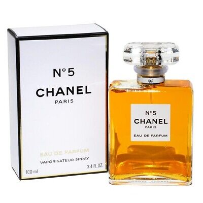 CHANEL No 5 Women's Perfume Eau De Parfum 3.4 fl oz - 100 ml Brand New & Sealed*