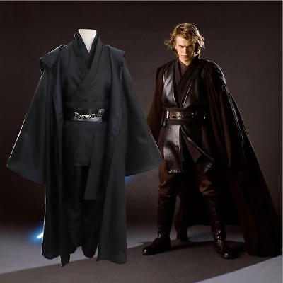 Star Wars Anakin Skywalker Darth Vader Halloween Outfit Cloak Cosplay Costume - Darth Vader Halloween Costume