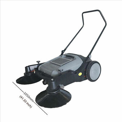 41 Width Push Power Pavement Sweeper Walk-behind Sweeper Streen Factory Clean