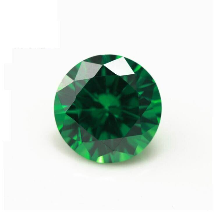 Natural Round Emerald Loose Gemstone 6-12mm Emerald Colombia Emerald Cut AAAAAA+