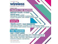 Friday wireless ticket