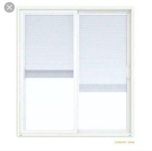 ISO: Sliding Patio Door with built in blinds