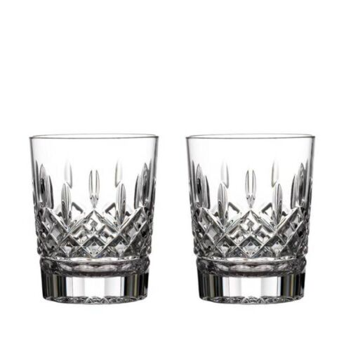 Waterford Lismore 12oz Double Old Fashioned, Set of 2 brand new