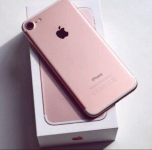 Iphone 7 - 32gb -Rose Gold ** Unlocked ** Good Condition**