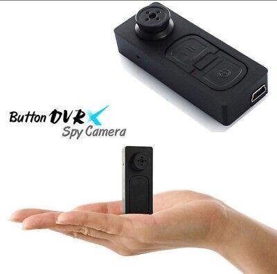 Mini Button Pinhole Spy Cam Video Spy Hidden Security Camera DVR Recorder