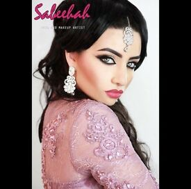 Asian Hair and Makeup Artist Leicester