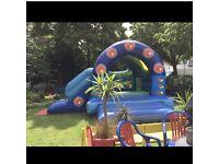 Bouncy castle popcorn & candy floss machine Dj hire in London hh