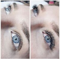 Classic Lash Extensions $65, very flexible availability!