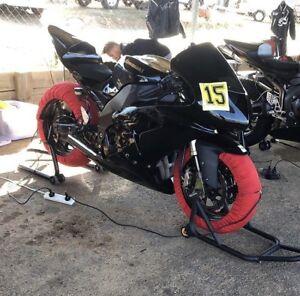 2006 zx10r race bike
