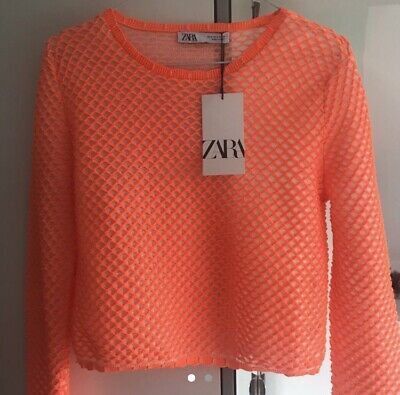 Zara Brand New With Tags Top Size Small