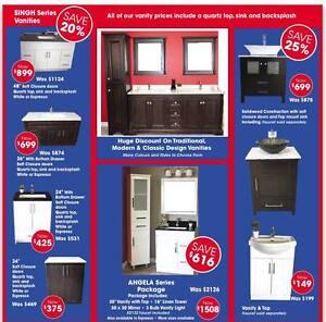 """40"""" SINGH Series Vanity - Quartz Top w/Sink - ON SALE 20% OFF London Ontario image 5"""