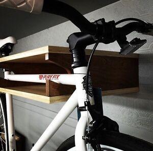 Support à vélo en bois.  NEUF