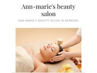 Ann-Marie's beauty salon Banbury offers pedicures, manicures, waxing, facials, massage and lots more