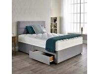SALE⚡️⚡️Brand New Divan Beds In All Sizes, Materials And Colours Including Delivery 💯💯