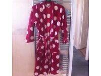 F&f dressing gown