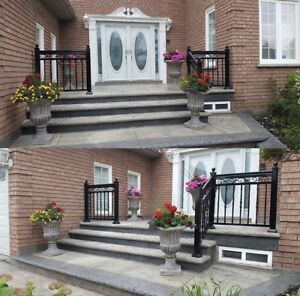 Aluminum Railings, Glass, Columns, Handrail, Gates & MORE!