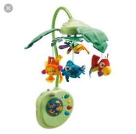 Fisher Price Peek a boo rainforest mobile