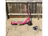 Pink Electic Scooter