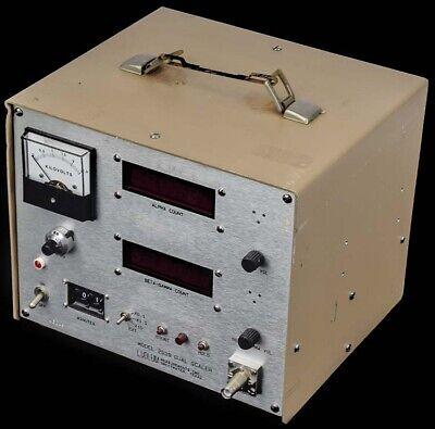 Ludlum Measurements 2929 Digital Display Beta-gamma Alpha Radiation Dual Scaler
