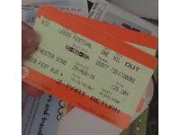 Leeds festival travel from Manchester