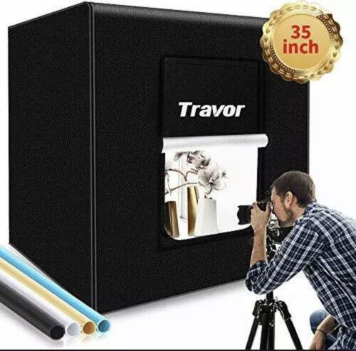 "Travor M90 Photo Box Photo Light Studio Box 35""/90cm 126 LED Light FOSITAN"