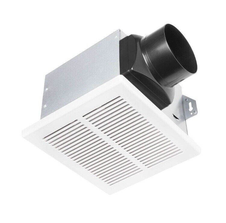 HAMPTON BAY 80 CFM Ceiling Mount Roomside Installation Humidity Sensing