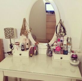 Beautiful White Dressing Table