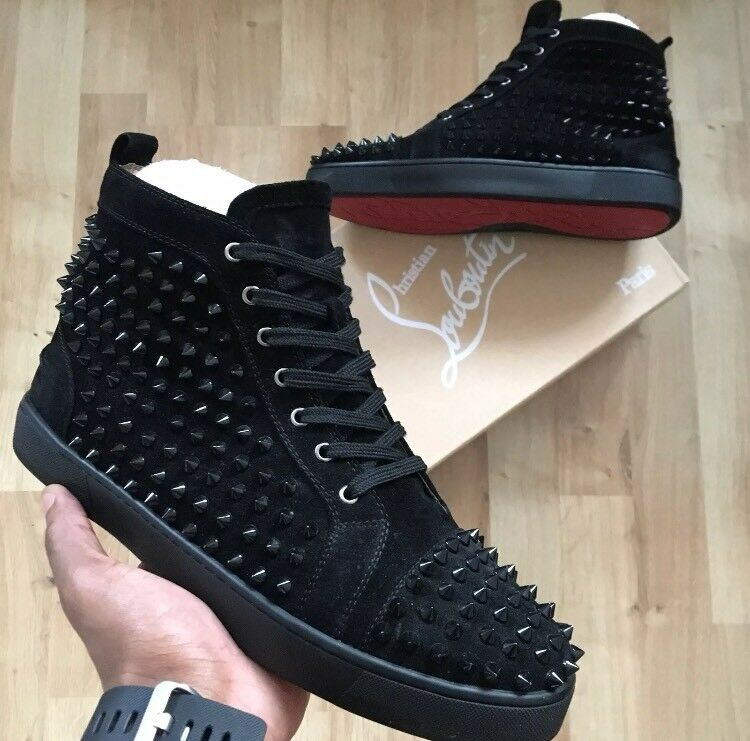 Men s Christian Louboutin Trainers. High tops. Size 9 UK.  d5e6d4822f0