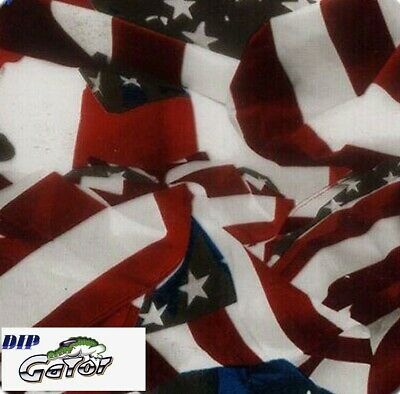 Flag Colored Uinion Water Transfer Hydrographic Hydro Film 0.5x2m Pr Dip