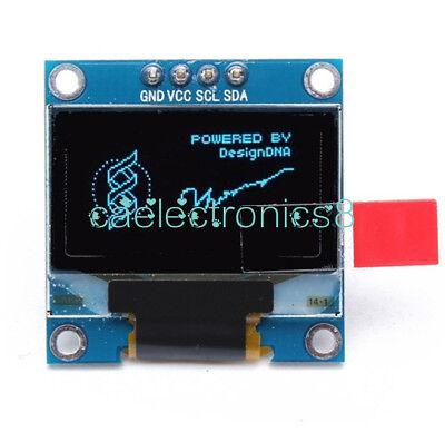 0.96 I2c Iic Serial 128x64 12864 Blue Oled Lcd Led Display Module Arduino Ca