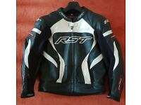 Mens Leather RST Jacket Tractech