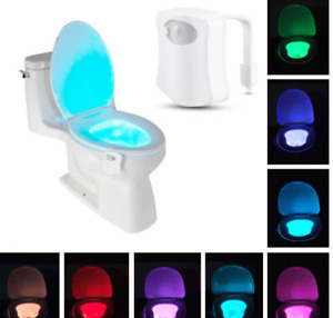 Selling Brand New LED Toilet Lights (8 Colours Per Device)