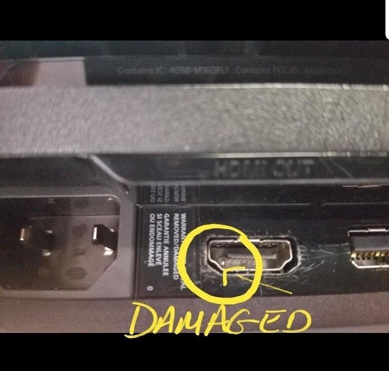 Sony Playstation 4 Ps4 Pro Hdmi Port Repair Service (entire Console)