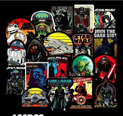 Twenty Different Stunning STAR WARS Art Stickers Laptop // Skateboard / PC'S etc