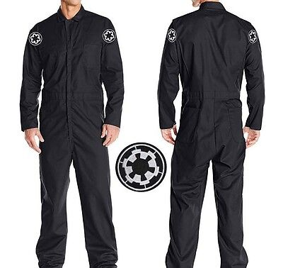 R PILOT HI QUAL JUMPSUIT Cosplay Uniform Costume US SHIPPER (Tie Fighter Pilot Kostüm)
