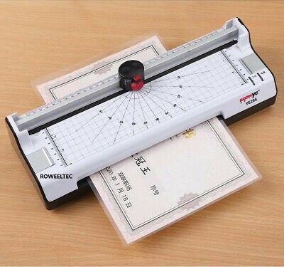 6in1 Hot Cold Film Laminator Laminating Machine Cutter Corner Rounder Lace A3 S