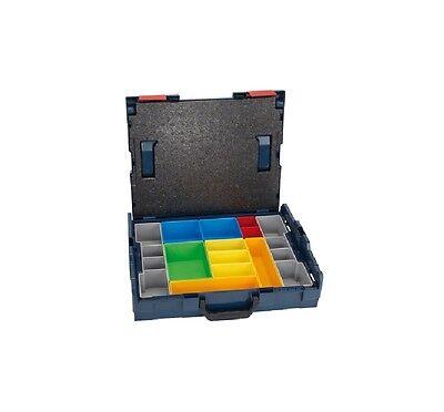 Bosch L-BOXX 102 Set 12 Stück Professional 1600A001S3 Einlagen Box Neuware!