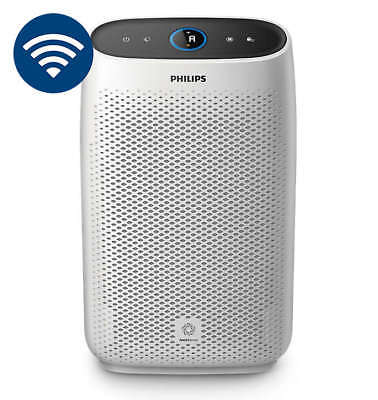New Philips 1000i Smart Air Purifier w/ App Controller Features - AC1214/40