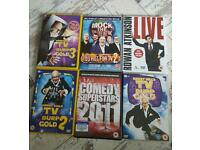 6 comedy DVD'S All original and boxed
