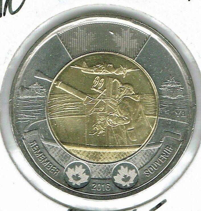 2016 Canadian Brilliant Uncirculated Commemorative Battle of The Atlantic $2!