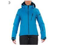 Womens Hyra Ski Jacket in stunning blue colour.