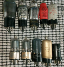Rare vintage radio / tv valves