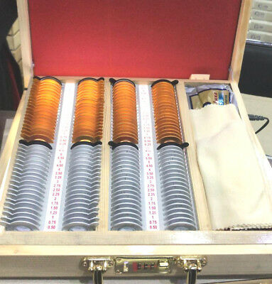 New Trial Lens Set 66 Lenes With Trial Frame For Optometry Equipment