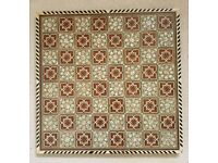 Mosaic Marquetry Vintage Chess board from Egypt