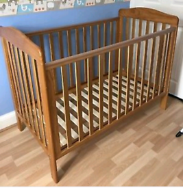Mothercare pine cot bed GOOD CONDITION